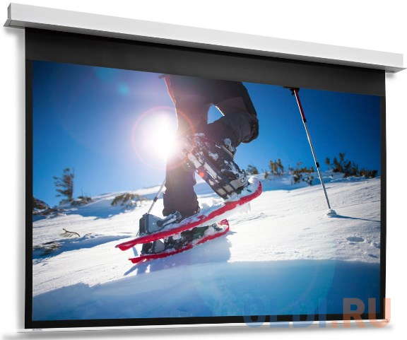 [10104796] Экран Projecta DescenderPro 129х200см (раб.обл. 119х190 см) (88) Matte White с эл/приводом 16:10.