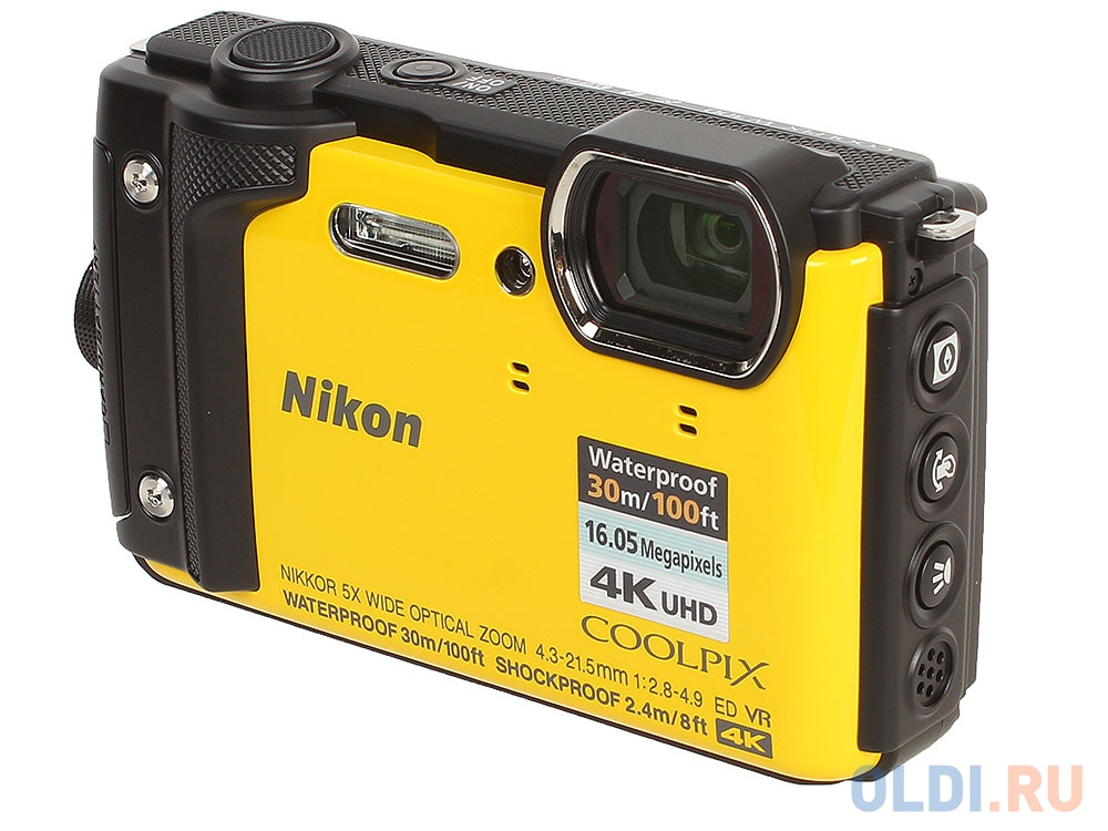 Фотоаппарат Nikon Coolpix W300 (VQA072E1) Yellow