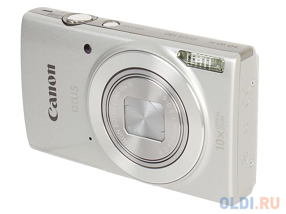 Фотоаппарат Canon IXUS 190 (1797C001) Silver