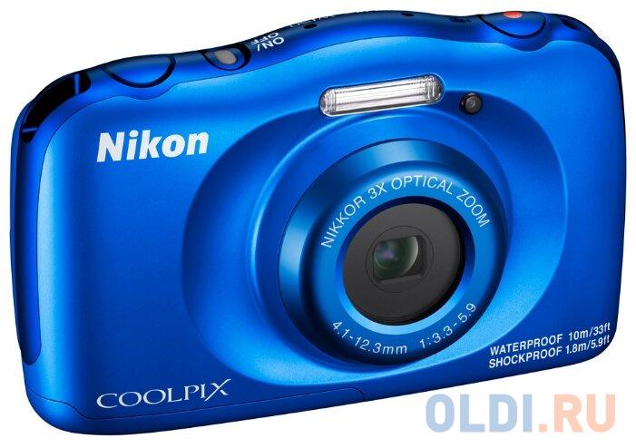 Фотоаппарат Nikon Coolpix W150 Blue Backpack KIT фотоаппарат зеркальный nikon d750 body