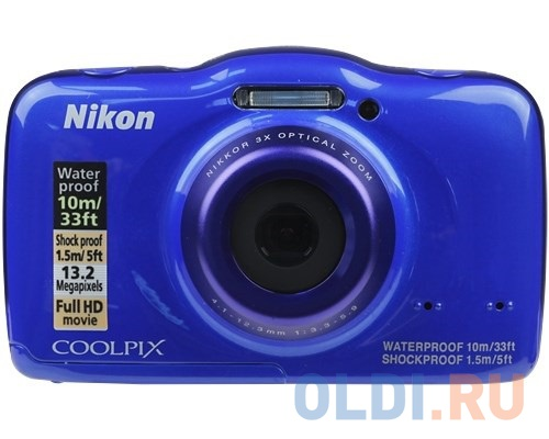 Nikon coolpix s32 blue рюкзак topgal рюкзаки школьные чили