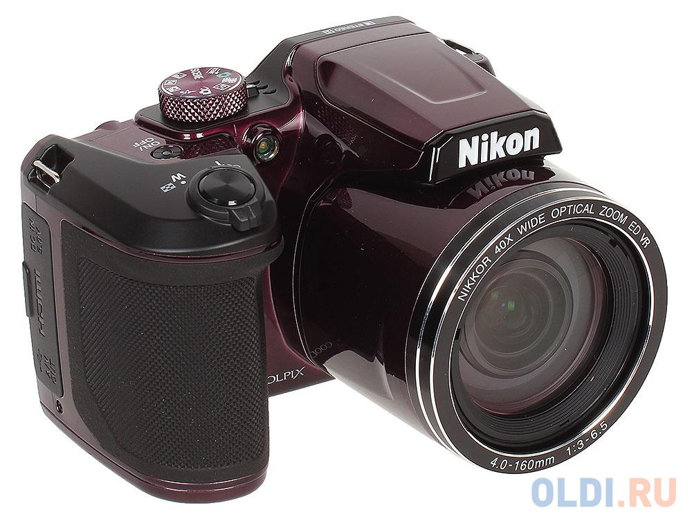 Фотоаппарат Nikon Coolpix B500 (VNA952E1) Plum
