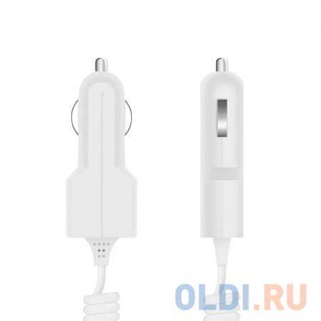Фото - Автомобильное зарядное устройство Prime Line 2200 30-pin Apple 1A белый автомобильное зарядное устройство prime line 2221 usb 1a черный