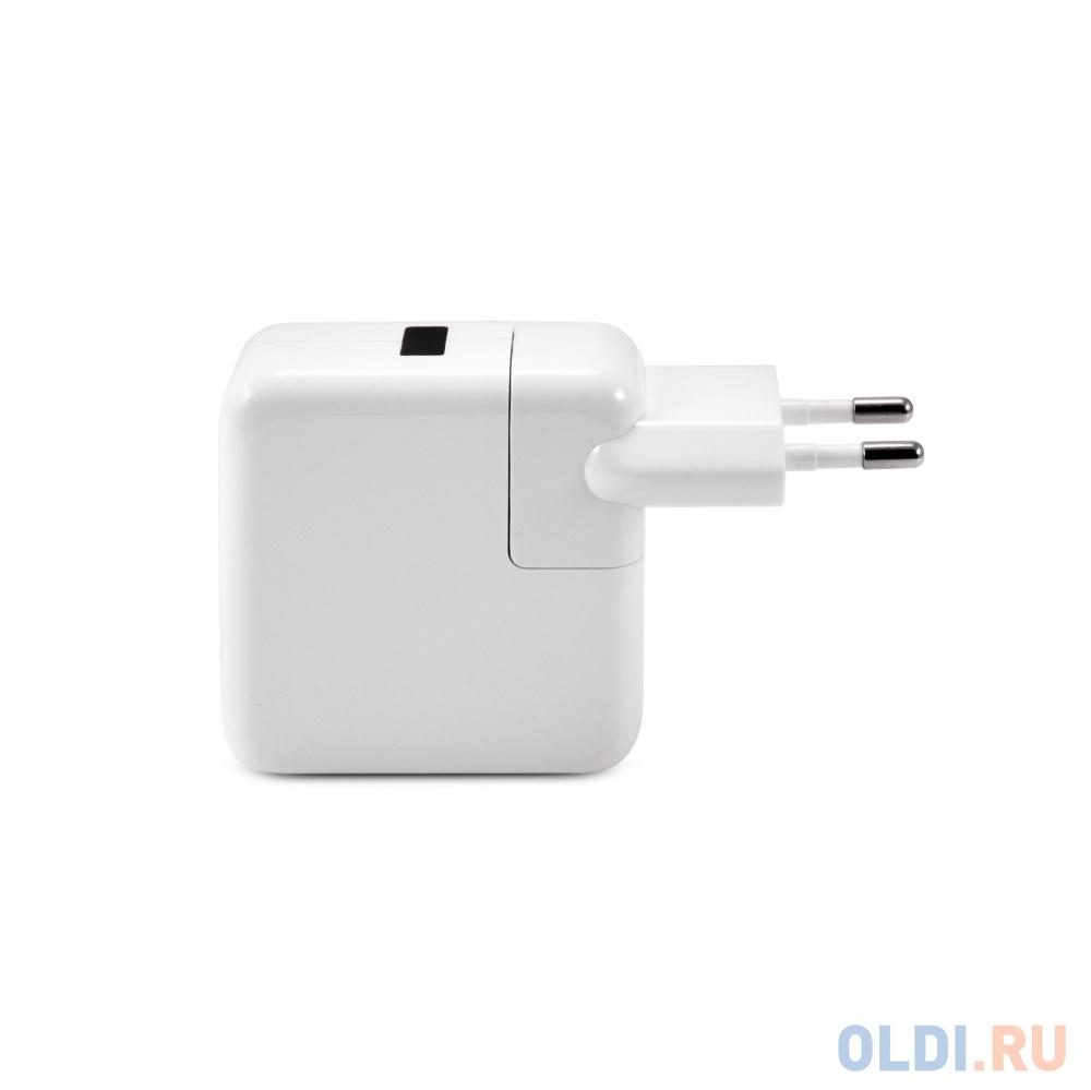 Зарядное устроиство USB от сети питания 220В Gmini GM-WC-184-4USB с 4 USB портами, белый