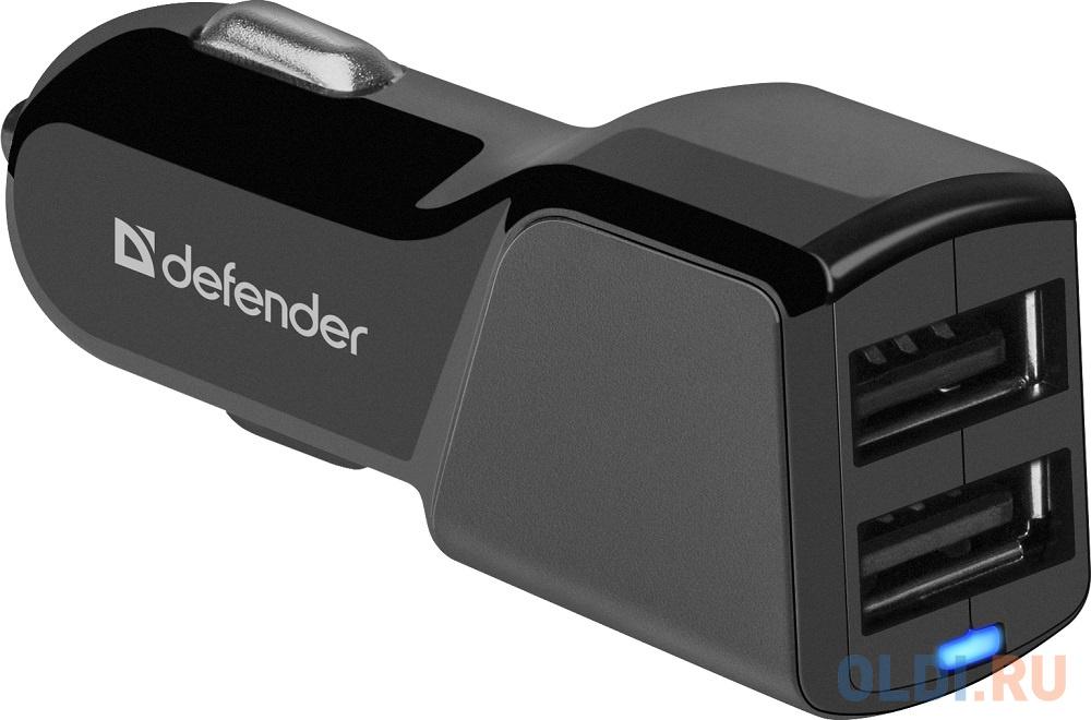 Автомобильное зарядное устройство Defender UCA-34