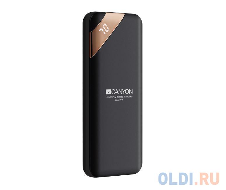 Внешний аккумулятор Canyon CNE-CPBP5B Black