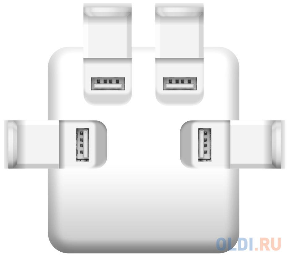 Сетевое зарядное устройство iconBIT FTB4U6A серебристый FT-0016C недорого