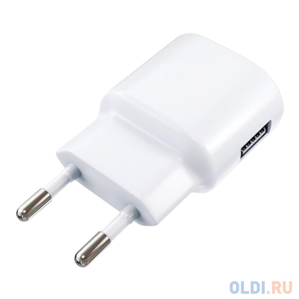 Сетевое зарядное устройство Red Line ТС-1A 1A USB белый 453432 зарядное