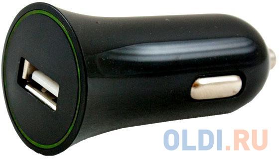 Автомобильное зарядное устройство Partner 1A USB microUSB черный ПР023771