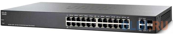 Коммутатор [SF250-24P-K9-EU] Cisco SB SF250-24P 24-Port 10/100 PoE Smart Switch коммутатор cisco sf110d 16hp 16 port 10 100 poe desktop switch