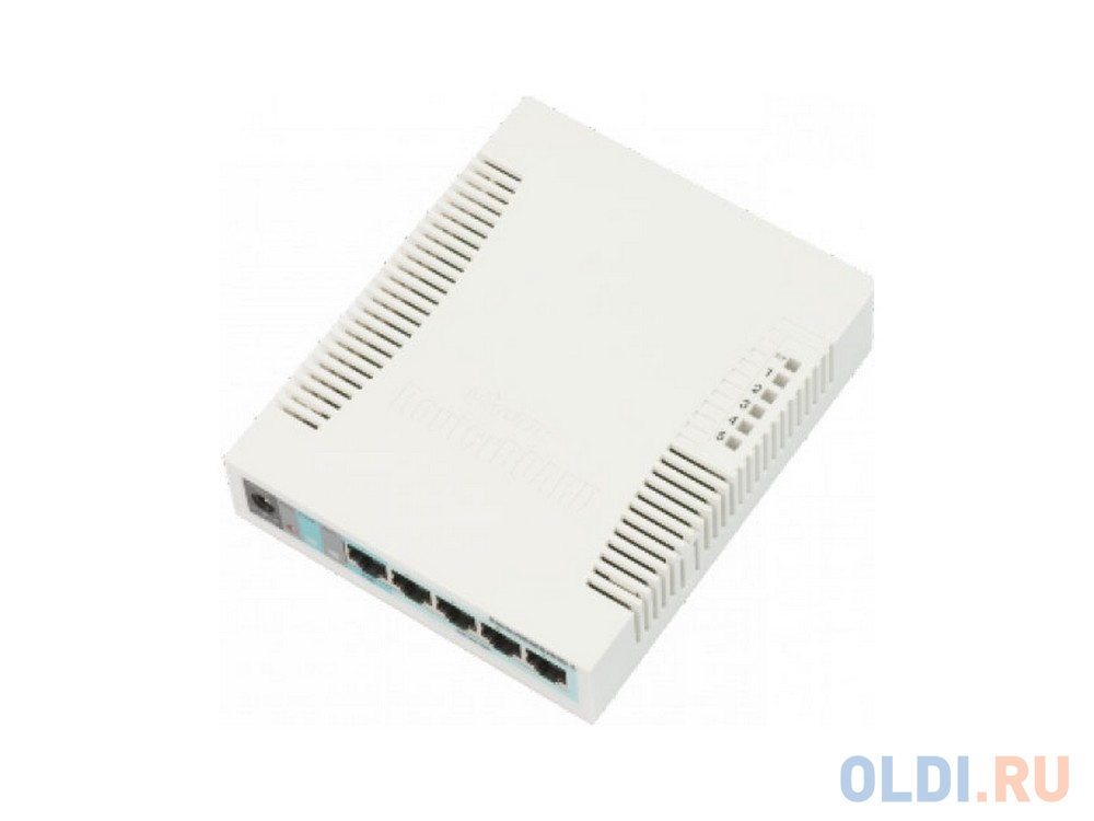 Коммутатор MikroTik RouterBoard 260GS 5 портов 10/100/1000Mbps.