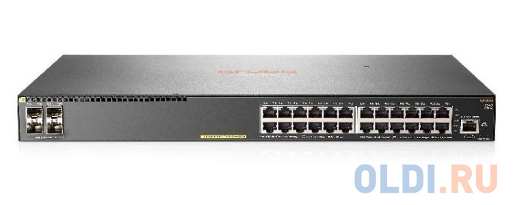 Коммутатор HP Aruba 2540 24G PoE+ 4SFP+ Switch фото