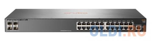 Коммутатор HP Aruba 2930F управляемый 24 порта 10/100/1000 PoE+ 4 SFP JL255A коммутатор hp aruba 2930f 48g poe 4sfp