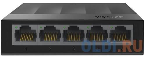 Коммутатор 5 ports Giga Unmanaged switch, 5 10/100/1000Mbps RJ-45 ports, plastic shell, desktop and wall mountable tp link uh400 usb 4 ports