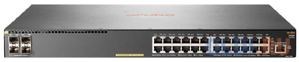 Коммутатор HP Aruba 2930F управляемый 24 порта 10/100/1000 PoE+ 4 SFP JL261A коммутатор hp aruba 2930f 48g poe 4sfp