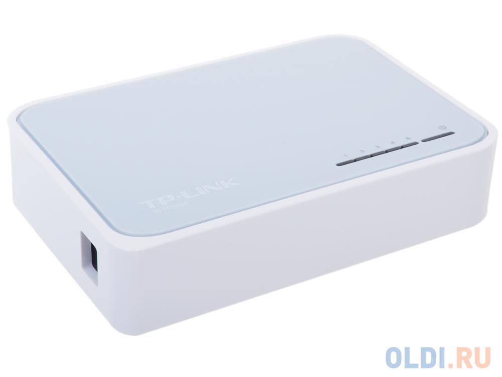 Коммутатор TP-LINK TL-SF1005D 5-ports 10/100Mbps
