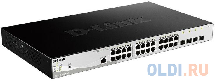 Коммутатор D-Link DGS-1210-28/ME/B1A кабель d link dkvm cu5 b1a