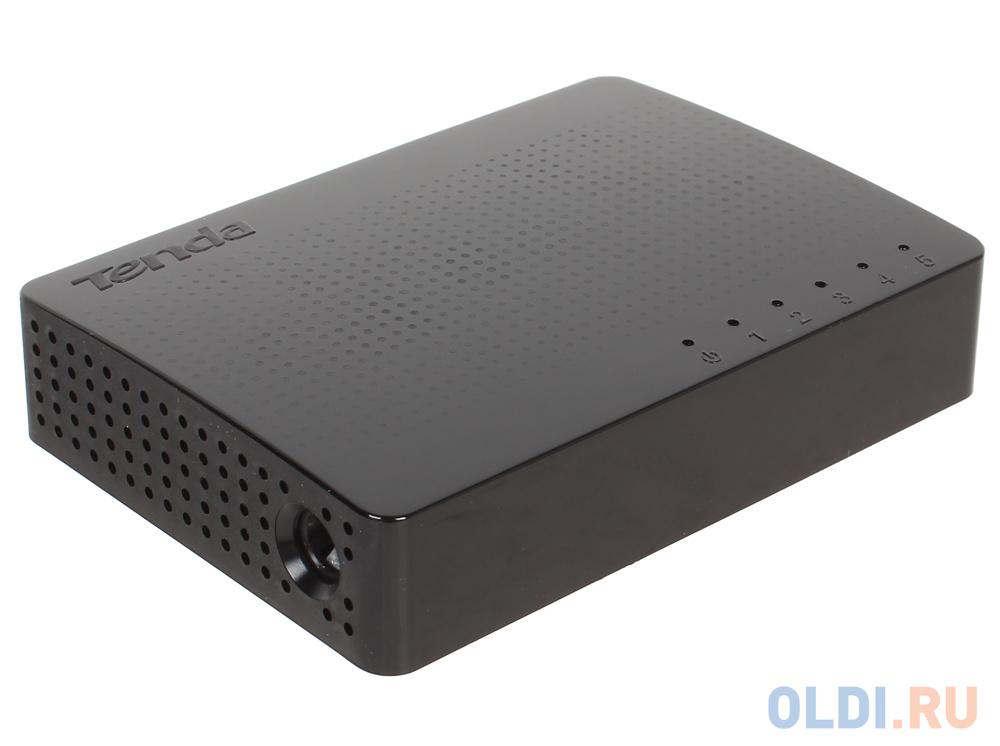 Коммутатор Tenda SG105 5-портовый коммутатор Gigabit Ethernet