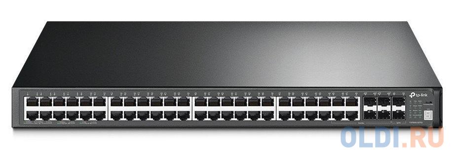 Фото - Коммутатор TP-LINK T3700G-52TQ JetStream 52-портовый гигабитный управляемый стекируемый коммутатор 3 уровня коммутатор commax ciot h4l2