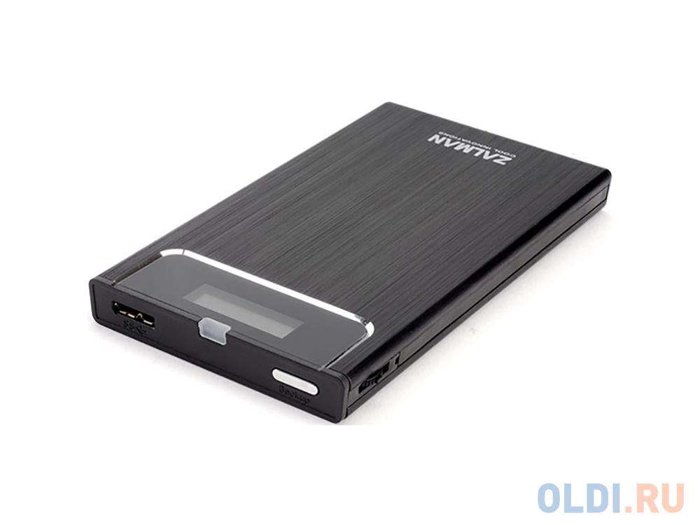 Внешний контейнер для HDD 2.5 SATA ZALMAN ZM-VE350 USB3.0 черный zalman k1 черный