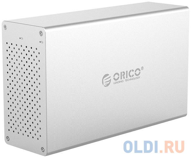 Контейнер для HDD Orico WS200U3 (серебристый)