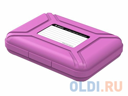 "Чехол для HDD 3.5"" Orico PHI-35-PU фиолетовый"