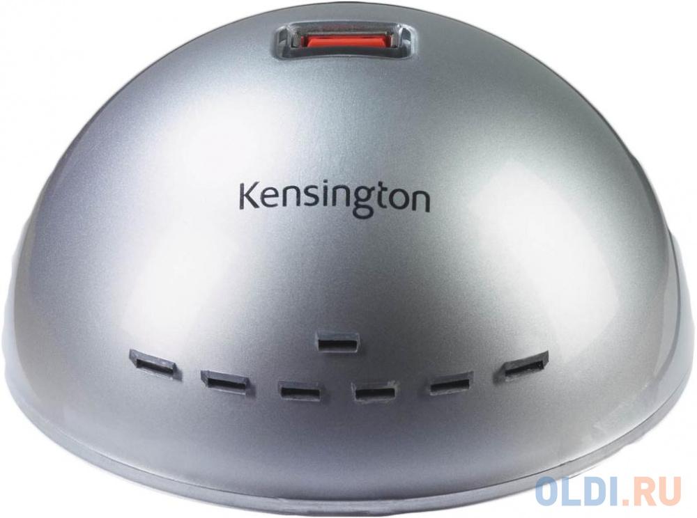 Концентратор USB 2.0 Kensington 1500100 7 x USB 2.0 серебристый.