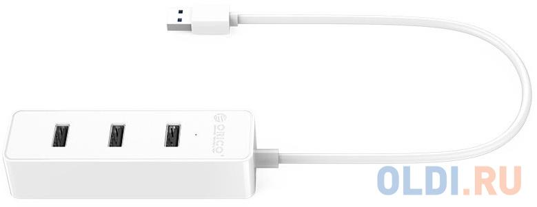 USB-концентратор Orico W5PH4-U32 (белый)