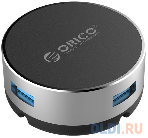 USB-концентратор подставка под ноутбук Orico ANS1-SV (серебристый)