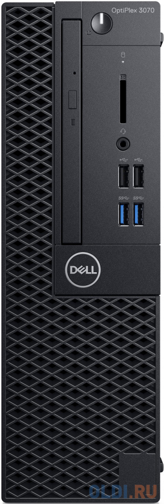 Системный блок Dell Optiplex 3070 SFF i3 9100 (3.6)/8Gb/SSD256Gb/UHDG 630/DVDRW/Windows 10 Professional/GbitEth/200W/клавиатура/мышь/черный