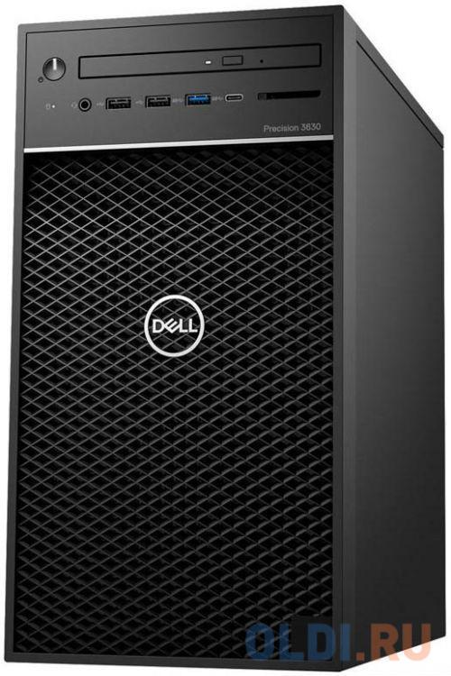 ПК Dell Precision 3630 MT i7 8700 (3.2)/16Gb/SSD512Gb/P620 2Gb/DVDRW/Linux Ubuntu/GbitEth/460W/клавиатура/мышь/черный пк dell precision 3630 mt i7 8700 3 2 16gb ssd512gb p620 2gb dvdrw linux ubuntu gbiteth 460w клавиатура мышь черный