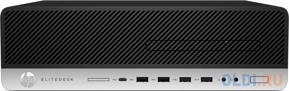 ПК HP EliteDesk 800 G5 SFF i5 9500 (3)/8Gb/1Tb 7.2k/UHDG 630/DVDRW/Windows 10 Professional 64/GbitEth/250W/клавиатура/мышь/черный