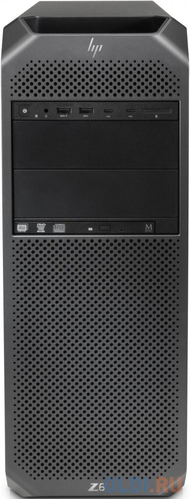 ПК HP Z6 G4 XeSi 4210 (2.2)/32Gb/SSD256Gb/DVDRW/CR/Windows 10 Workstation Plus Professional 64/GbitEth/1000W/клавиатура/мышь/черный