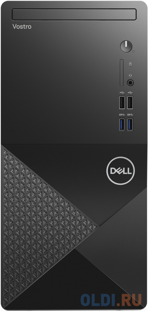 ПК Dell Vostro 3888 MT i5 10400 (2.9)/8Gb/SSD256Gb/UHDG 630/DVDRW/CR/Linux/GbitEth/WiFi/BT/260W/клавиатура/мышь/черный dell vostro 3671 2660 mt черный