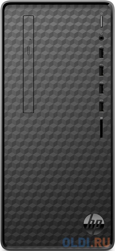 ПК HP M01-F1012ur Ryzen 3 4300G (3.8)/4Gb/SSD256Gb/RGr/CR/Windows 10/GbitEth/WiFi/BT/180W/черный