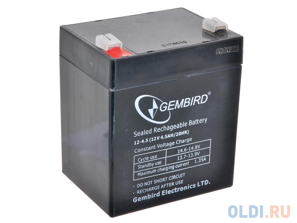 """Аккумулятор для ИБП """"Gembird"""" BAT-12V4.5AH"""
