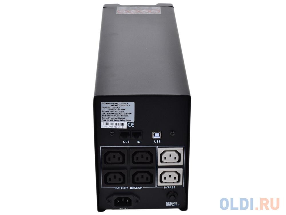 ИБП Powercom IMP-2000AP Imperial 2000VA/1200W USB,AVR,RJ11,RJ45 (4+2 IEC)