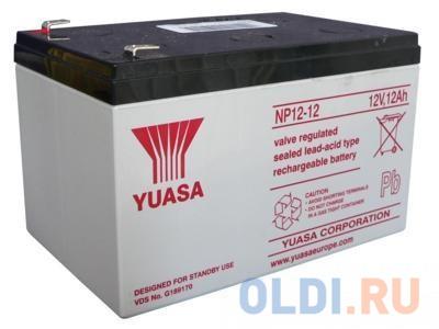 Аккумулятор Yuasa 12V12Ah (NP12-12)
