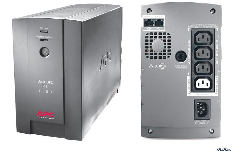 ИБП APC BR1100CI-RS Back-UPS RS 1100VA/660W