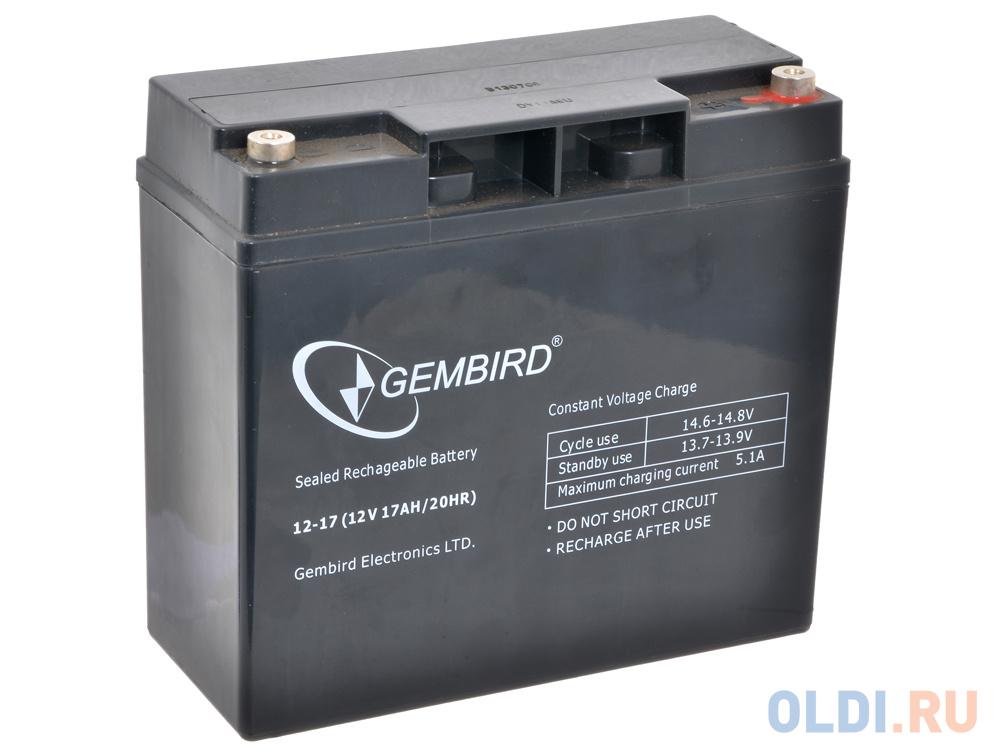 Аккумулятор для ИБП Gembird BAT-12V17AH/4 аккумулятор