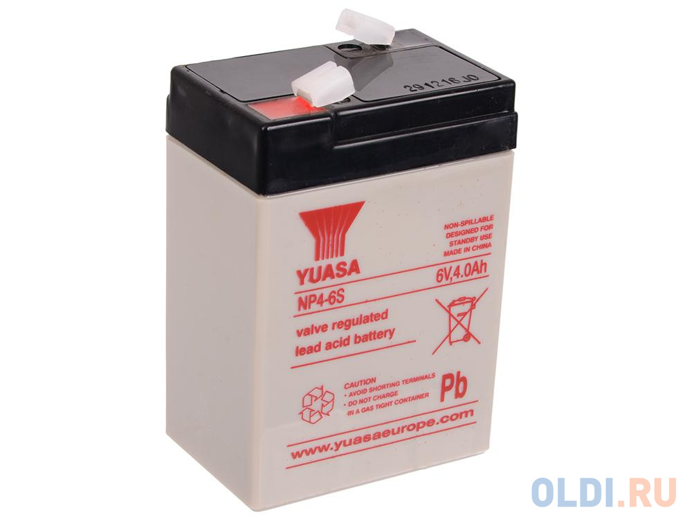 Батарея Yuasa NP4-6S 6V/4Ah