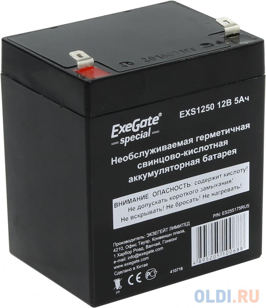 Батарея Exegate 12V 5Ah EXS1250 ES255175RUS.