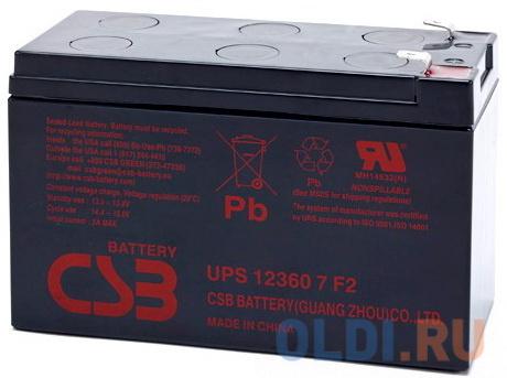 Батарея CSB UPS 123607 F2.