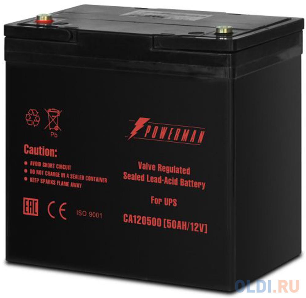 Батарея Powerman CA12500 12V/50AH фото