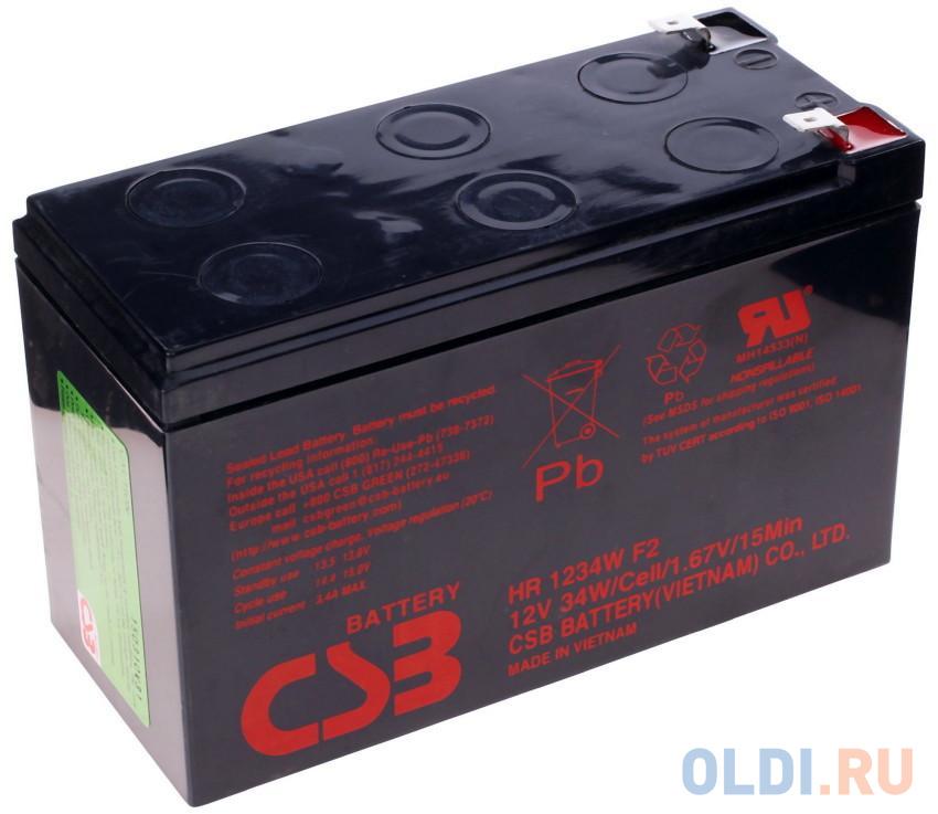 Батарея для ИБП BB HRC 1234W 12В 9Ач батарея для ибп bb battery hr5 8 12