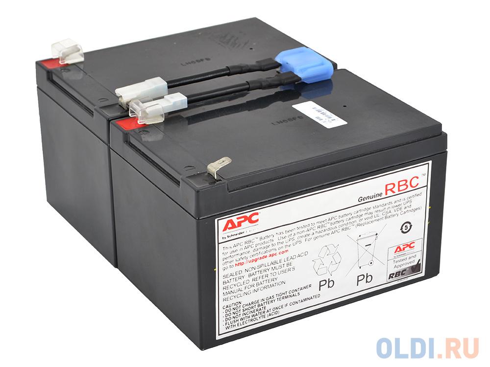 Батарея для ИБП APC RBC6 12В/12А батарея для ибп apc rbc43