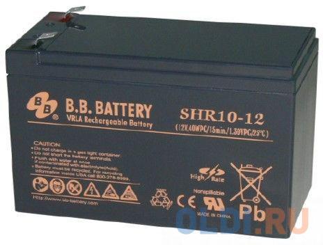 Батарея для ИБП BB SHR 10-12 12В 8.8Ач батарея для ибп bb battery hr5 8 12
