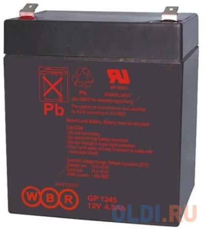 Батарея WBR GP 1245 (16W) 12V/4AH
