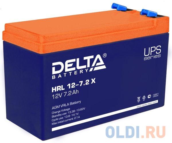 Delta HRL 12-7.2 Х (7.2 А\\ч, 12В) свинцово- кислотный аккумулятор
