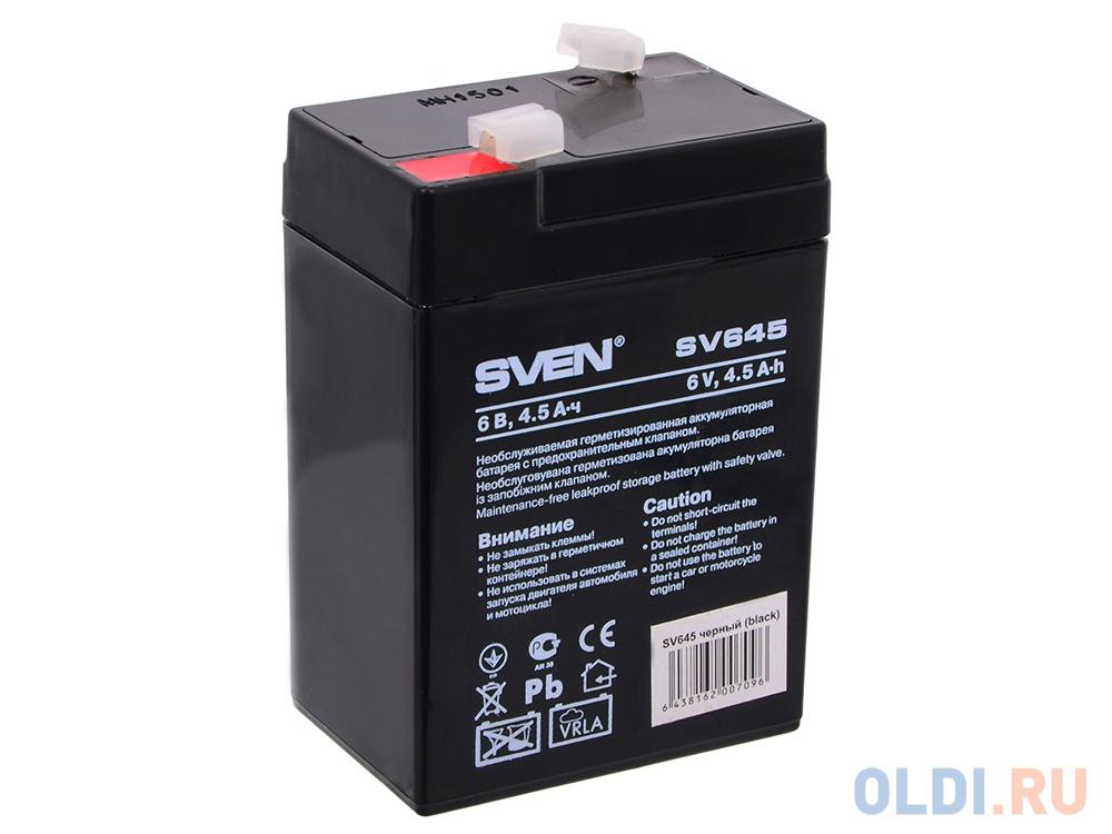 Аккумулятор SVEN SV 6V4.5Ah